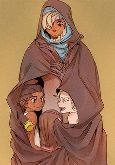 AWW GRANDMA ANA WITH BABY LUCIO, HANA AND JAMIE AHHH