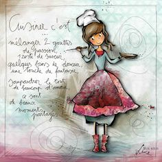 Image associée - Cendrine 9 - Image Sharing World French Cartoons, Cartoon Quotes, Logo Restaurant, Watercolor Cards, Cute Illustration, Illustrations, Plexus Products, Image Sharing, Art Girl