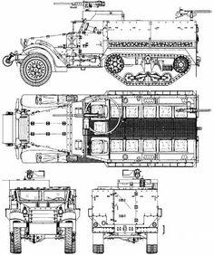 White M3A1 Half Track