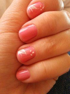 Nail art for short nail.