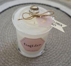 Signature Soy candle /Living interior / Wedding gift / Custom