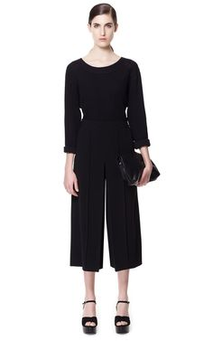 CROPPED CULOTTES - Trousers - Woman - ZARA United States