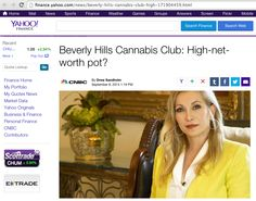 Yahoo News Beverly Hills High Net Worth Pot Cheryl Shuman's Beverly Hills Cannabis Club