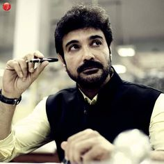 Shree Venkatesh Films released the first look of Prosenjit Chatterrjee , playing a character called Nirbed Lahiri in this Kamleshwar Mukerjee direction.