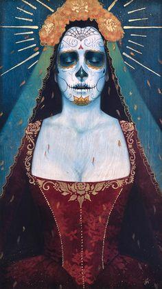 Dia de Los muertos,mexican,catrina