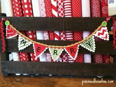 Gardner Village : DIY Tuesday: Christmas Craft from Pine Needles