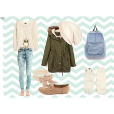 """""""BACK TO SCHOOL OUTFIT #2 #OOTD"""" by alexia-neagu on Polyvore"""
