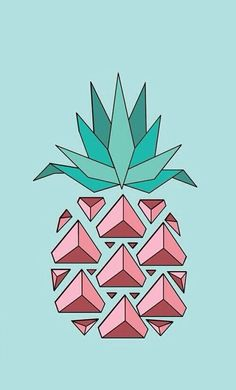 iPhone Wallpaper - PINEAPPLE