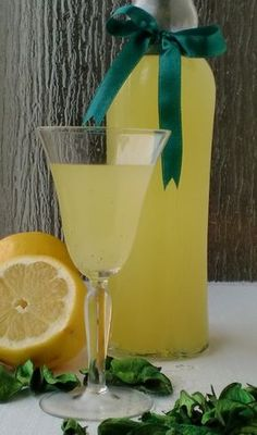 Lemon vanilla infused vodka (requires google translate but easy to make)