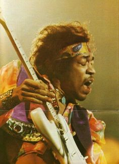 Hendrix. I can almost hear him playing...