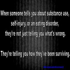 trauma informed care self-harm