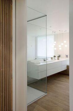 AAC A. - Rencontre un Archi.  Prenez rendez-vous avec un Archi pour 50€.  Salle de bain, bois, meuble salle de bain, parquet, moderne, contemporain