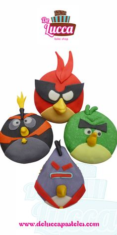 Angry Birds   #Cupcakes