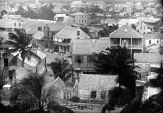 Bird's eye view - Key West, Florida 1849   State Archives of Florida