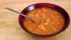 Chicken Soup Recipe - Laura in the Kitchen - Internet Cooking Show Starring Laura Vitale