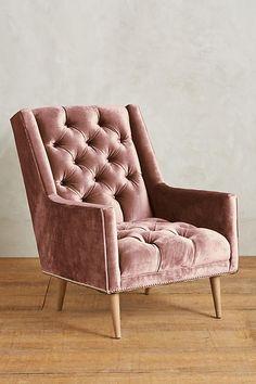 velvet armchair pink oversized wicker chair 77 best furniture images diy ideas for home future house slide view 1 slub booker decor handmade