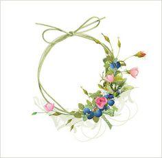 Digital Scrapbooking Freebie Frame & Flower Frame
