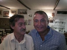 Con Franco Lauro
