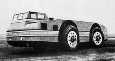 """The Antarctic Snow Cruiser was a vehicle designed from 1937 to 1939 intended to facilitate transport in the Antarctic. While having several innovative features, it generally failed to operate as hoped under the difficult conditions, and was eventually abandoned in Antarctica. Rediscovered under a deep layer of snow in 1958, it later disappeared again due to shifting ice conditions."" - Wikipedia"