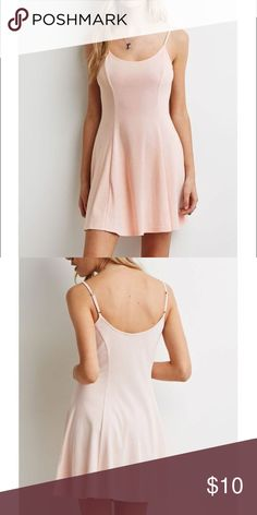 PINK A-LINE DRESS Simple pink dress, brand new with tags! I will bundle it for free with any other purchase over $30! Forever 21 Dresses