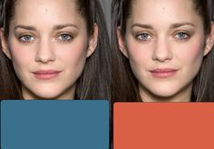 Marion Cotillard - Cool Summer. Some analyse her as a Cool Winter. Judging by this picture, I'd say summer is right though. BTW, her coloring is exactly like my daughter's, with the steel gray/blue eyes, and that my daughter looks amazing in that type of blue.