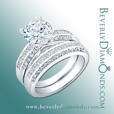 Wide variety of sets at www.beverlydiamonds.com Posts, Engagement Rings, Jewelry, Fashion, Enagement Rings, Moda, Messages, Jewels, Fashion Styles