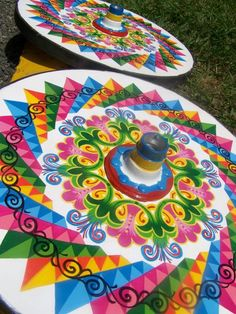 Costa Rican oxcart wheels