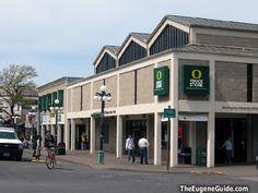 U of O Bookstore, 13th & Kincaid, Eugene, Oregon