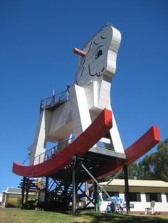 The Big Rocking Horse - Gumeracha, South Australia