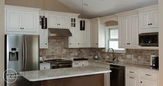 shiloh maple beaded inset cabinets in egg shell with a cafe
