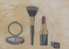 0 point de croix maquillage - cross stitch make up