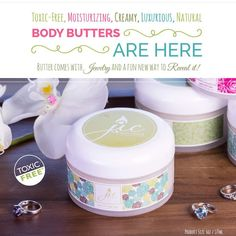 On Friday you can reserve your body butter with just $5.00. https://www.jewelryincandles.com/store/betsy-candles