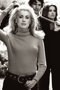 Catherine Deneuve by Juergen Vollmer, 1968