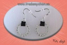 Beaded Jewelry, Cloud, Beading, Berries, Jewelry Making, Drop Earrings, Silver, How To Make, Crafts