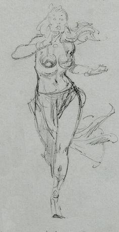 John Buscema Drawing