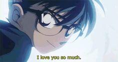 Shinichi and Ran! I love younso much! Detective Conan Ran, Detective Conan Shinichi, Ran And Shinichi, Kudo Shinichi, Leo And Kate, Detective Conan Wallpapers, Gosho Aoyama, Kaito Kid, Amuro Tooru