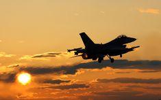 F-16 Viper Following Lift-Off