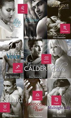 Românticos e Eróticos  Book: Mia Sheridan - Sign of Love #1 a #8