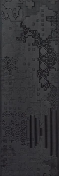 """styletrove:  """"aesthetichaven:  """"PATTERN LOVE: Tile with Bas-Relief Patchwork design.  """" """""""
