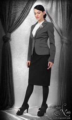 Sophistique Noir - Gothic Fashion for the Mature: Work Outfits