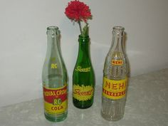 vintage nehi, royal crown, squirt. I drank all of these and loved them! Yummy