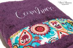 Custom Towel Child Nap Mat Bridal Gift Bridesmaid by flyinshirer, $25.00