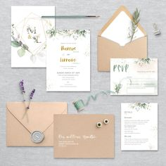 Blush Wedding Invitations, Wedding Invitation Templates, Wedding Stationery, Stationery Design, Printing Services, Thank You Cards, Colorful Backgrounds, Our Wedding, Place Card Holders