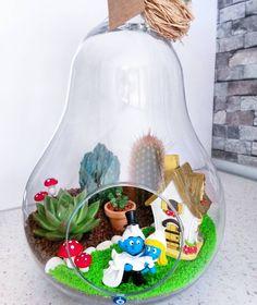 Lambalı bahcemizde kit halinde uğurlandı by minibahcen Snow Globes, Gingerbread, Succulents, Instagram Posts, Kit, Home Decor, Decoration Home, Room Decor, Ginger Beard