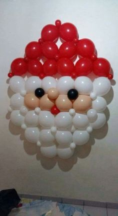 Balloon Art Santa