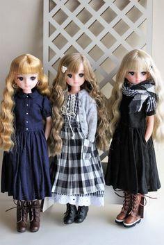 ソバ三人娘8751 Girl Doll Clothes, Barbie Clothes, Girl Dolls, Dolly Dress, Barbie Dress, Beautiful Barbie Dolls, Pretty Dolls, Girl Dress Patterns, Doll Clothes Patterns