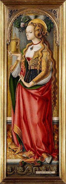 Carlo Crivelli, Santa Maria Maddalena, 1474-76, Rijksmuseum, Amsterdam
