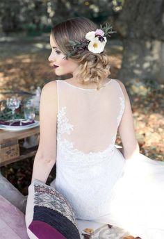 Bohemian-Hochzeitsinpiration in Beerenfarben und Marsala Karina und Agnes http://www.hochzeitswahn.de/inspirationsideen/bohemian-hochzeitsinpiration-in-beerenfarben-und-marsala/ #boho #bohemian #bride