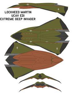lockheed martin UCAV EDI by bagera3005