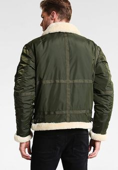 Alpha Industries B3TT - Bomber Jacket - dark green for £251.99 (29/12/17) with free delivery at Zalando